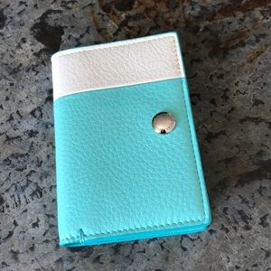 Tiffany and Co. Vertical Folded Card Case NWT